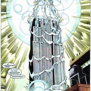 Days later, Manhattan is flooded. (X-Factor #27)