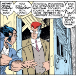 Oh, hey, it's the Walter Peck of the Marvel Universe. (Uncanny X-Men #228)