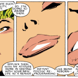 """Also, you'll start spelling 'tiger' with a Y."" (Uncanny X-Men #229)"