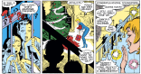 "Elf Dazzler meshes weirdly well with the whole ""Baby Boomer Santa"" thing from Community. (Uncanny X-Men #230)"