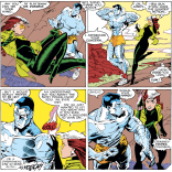 Hot, and also hot. (Uncanny X-Men #231)