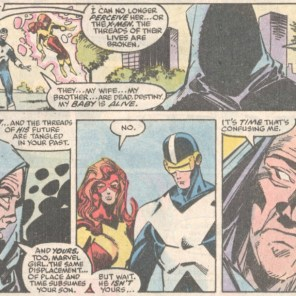 Louise and Walter Simonson do the best Destiny. (X-Factor #31)