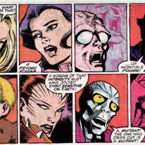 How you know a psychic event is a big deal: the cross-franchise reaction montage! (X-Factor Annual #3)