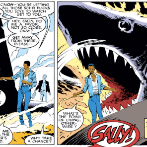 AND THAT'S WHY YOU ALWAYS LEAVE A NOTE. (Uncanny X-Men #232)