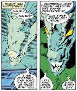 Meet N'astirh: the most polite demon. Kinda. For now. (Uncanny X-Men #236)