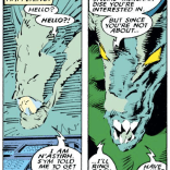 Meet N'astirh: the most polite demon. Kinda. For now. (Uncanny X-Men #236)
