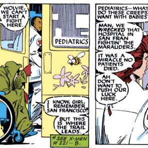 """""""Yes, and..."""" (Uncanny X-Men #235)"""