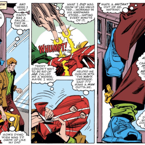 Go set something on fire for justice, kiddo! (X-Factor #33)