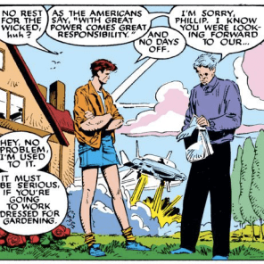 """Here in Genosha, we're more into D.C."" (Uncanny X-Men #236)"