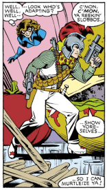 Arcade vs. Murderworld. (Excalibur #5)