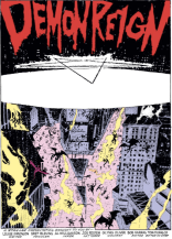 Possibly the most metal title page to ever appear in an X-book. (New Mutants #72)