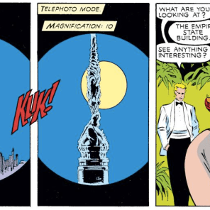 This whole scene is so exquisitely unsettling. (Uncanny X-Men #240)