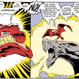 Love N'astirh's face in that first panel. (Uncanny X-Men #242)