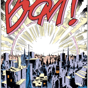 No one draws a possessed skyline like Silvestri. (Uncanny X-Men #242)