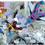 Let's all just take a moment to admire the composition of this splash page. (X-Factor #37)