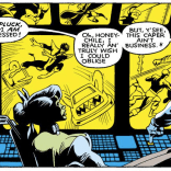 It's awfully nice of Arcade to put those recaps up on the monitors! (Excalibur #4)