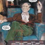 Dr. Meltdown and his trusty overlays. (Havok & Wolverine: Meltdown #3)