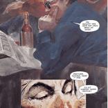 No, seriously: that's just straight-up James Dean. (Havok & Wolverine: Meltdown #1)