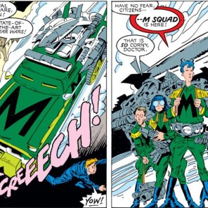 The M Squad really needs their own title. At least a one-shot (since they likely wouldn't survive longer than that).