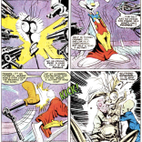 Warlock is adorable and Ship is adorable and everything is adorable. (New Mutants #74)