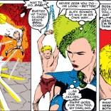 This scene: so weird. So awesome. But also so weird. (Uncanny X-Men #250)