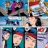 The visual equivalent of show, don't tell. (Uncanny X-Men #251)