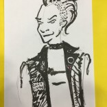 Punk Storm, by Jay (who forgot to take pictures of most of their sketches, most of which were of Warlock).