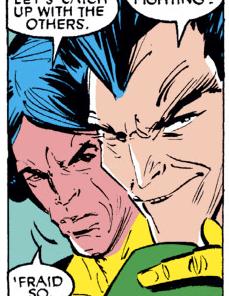 Well, THAT'S ominous. (Uncanny X-Men #254)