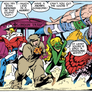 You can go home now. We've hit single greatest panel of Excalibur, ever. (Excalibur #15)