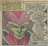 Look at that creepy little smirk! (X-Factor #50)