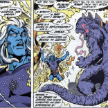 There's... there's a lot going on here. (Excalibur #20)