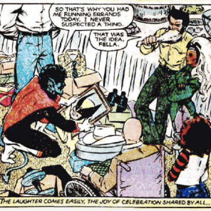 There's really nothing we can add to improve this already perfect panel.