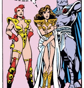See?! Rachel's barbarian-warrior costume is TOTALLY P.E.N.I.S.-five! (Excalibur #16)