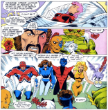 QUICK! PUNCH EACH OTHER FOR NO REAL REASON! (Spotlight on Starjammers #2)