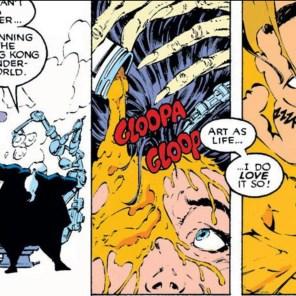 Hmm. That's, um... Yeah. (Uncanny X-Men #256)