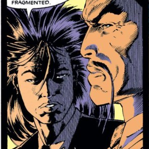 Look, I don't even care what Matsuo's plans are at this point: with that hair, he can do whatever he wants. (Uncanny X-Men #256)
