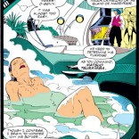 """""""Boss, I'll be in the meeting room in like five minutes. Come on, this is Me Time!"""" (Uncanny X-Men #257)"""