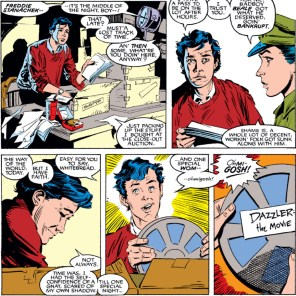 Freddie Stanacheck is back! From a background character to the real deal - just like Boba Feet! EXACTLY LIKE BOBA FETT. (Uncanny X-Men #259)