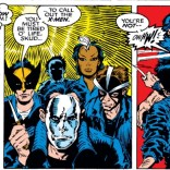 That's some dedication to theme right there. Are these guys from The Warriors? (Uncanny X-Men #260)