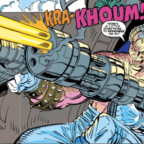 Cable is so... Cable. (New Mutants #89)