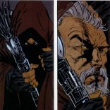 Cable as a wizard with Warlock as a wizard-staff? YES PLEASE (Wolverine: Rahne of Terra)