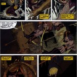 Okay, I know Wolverine's the bad guy right now, but that's legit badass. (Wolverine: Rahne of Terra)