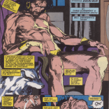 Oh, man. Barry Windsor-Smith and Bill Sienkiewicz should draw all the reality warpers. (Excalibur #27)