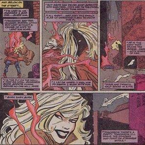 Next time: X-Factor versus psychic vampires!