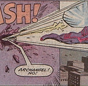 X-Factor in a single panel. (X-Factor #54)