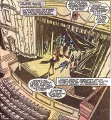 """Vampire dress, dilapidated theater, occult trappings - check. Let's get this LARP night started!"" (X-Factor #58)"