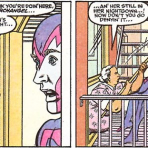 Charlotte's mother-in-law is basically the greatest. (X-Factor #59)