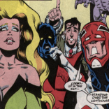 Chris Wozniak is not Alan Davis; but then, few are. (Excalibur #25)