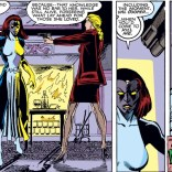 Any scene involving Mystique: exactly as it seems, of course. (Uncanny X-Men #266)