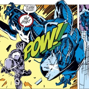 Robot-suit fight! (Uncanny X-Men #267)